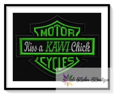 Kiss a Kawi Chick