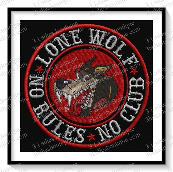 Lone Wolf - No Rules - No Club